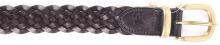 м. MSY-695 коричневий шкіра плетенка ремінь 00000007795 2