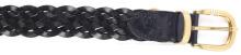 м. MSY-695 чорний шкіра плетенка ремінь 00000007794 2