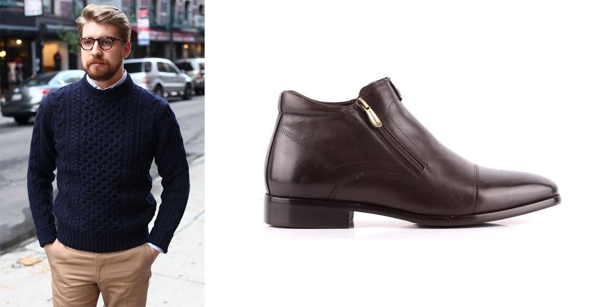 Як вибрати правильну пару чоловічого шкіряного взуття - Інтернет ... d43ee44977780