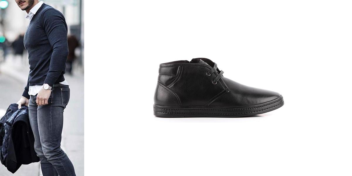 Чому б не надіти взуття із замші. З вибором подібних черевиків демісезонних  чоловічих в Україні проблем немає. Їх можна комбінувати з класичними  брюками ... 952dd28b70a5d