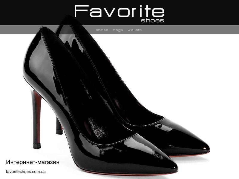 Чорні лакові туфлі – тренд сезону - Інтернет-магазин взуття ... 9d0454330711c